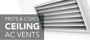 Floorregisters N Vents by Ceiling Ac Vents Pros And Cons