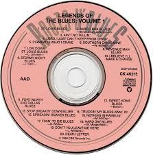Blind Lemon Jefferson Matchbox Blues Cd Album Various Artists Legends Of The Blues Volume 1