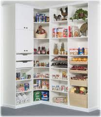 White Kitchen Storage Cabinet Kitchen Exciting Small Kitchen Storage Ideas With Corner Storage