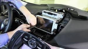 Ford Escape Dashboard - 2013 ford escape myford touch screen removal youtube