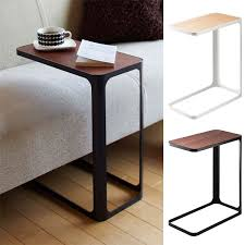 space saving end table side table woodgraining nostalgic mini rack co の character stylish