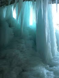 Soft Blue Color Blue With Envy Ice Caves At Rifle Mountain Park A Winter Jewel