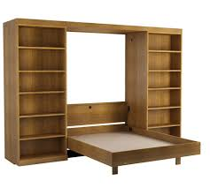 Diy Murphy Desk by Murphy Beds With Bookcases Abbott Library Murphy Bed Wall Bed