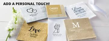 personalized wedding napkins personalized wedding napkins personalized wedding products