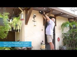 ring security light camera how to replace old lights with ring floodlight cam youtube