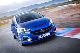 vauxhall corsa blue vauxhall corsa vxr 2015 the angriest corsa is back by car magazine