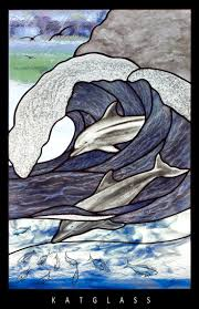 703 best stained glass ocean beach boats u0026 fish images on