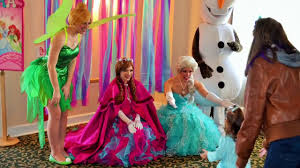frozen themed party entertainment princess party entertainment frozen themed and more youtube
