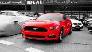 ford mustang dubai a 2016 ford mustang for sale at dubai s al aweer market fottams