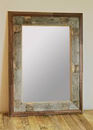 Wood Mirror Frame Fresh Pallet Wood Mirror Frame 86 With Pallet Wood Mirror Frame