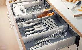 range ustensiles cuisine range ustensile de blum pour cuisine espace rangé