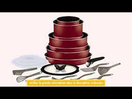 tefal batterie de cuisine tefal l0679702 ingenio 5 batterie de cuisine set de 20 pices