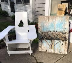 Westport Chair Custom Westport Chair With Osprey Nest Barn Door Painting Yelp