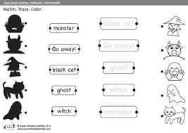 printable halloween worksheets mreichert kids worksheets