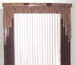 Blind Valance Custom Vertical Blinds