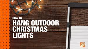 best way to hang christmas lights how to hang christmas lights christmas light installation youtube