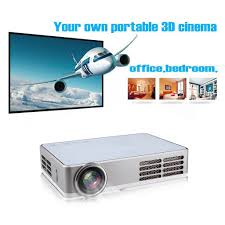 3d home theater projector excelvan portable dlp android 4 4 wifi mini full 3d hd projector