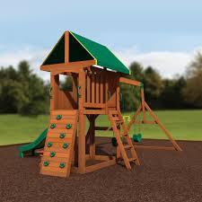 backyard discovery slide somerset wooden swing set playsets backyard discovery