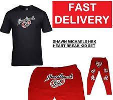 Shawn Michaels Halloween Costume Wrestling Fancy Dress Ebay