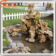 distinctive designs artificial fiberglass landscape rocks