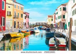 Burano Italy Colorful Houses Burano Venice Italy Stock Photo 561925231