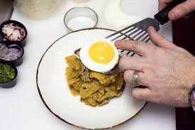 cuisine santos chef chris santos chilaquiles recipe is the hangover cure gq