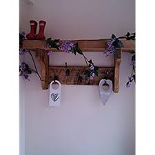 vintage coat rack with shelf hand made rustic 4 cast iron coat