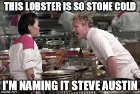 Stone Cold Meme - angry chef gordon ramsay meme imgflip