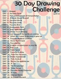 30 day drawing challenge don t when i m going to do this but