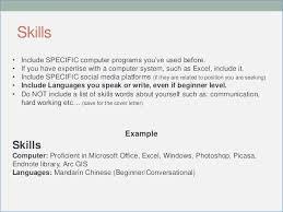 exle basic resume basic computer programs for resume fluently me