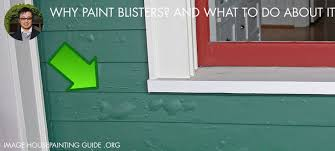 why paint blisters and what to do about it house painting guide
