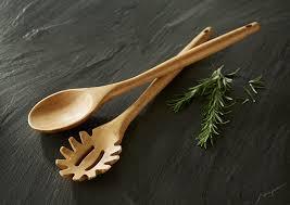 amazon com totally bamboo spoon 100 bamboo kitchen utensil 14