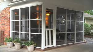Closed In Patio Advantages Of Screen Tight Porch Screening Youtube
