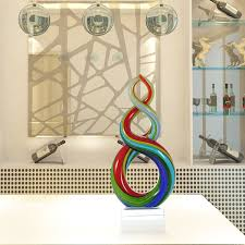 best and cheap multicolored tooarts colorful ribbon glass