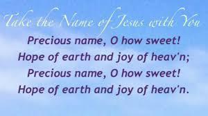 take the name of jesus with you presbyterian hymnal 116 youtube