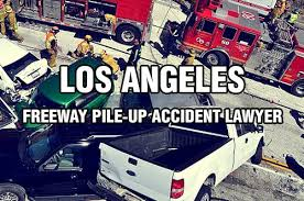 los angeles freeway pile up accident lawyer law and daily life