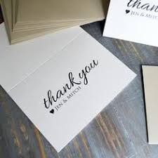 custom thank you cards blush thank you cards ivory blush custom thank you notes
