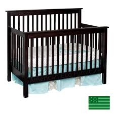 Convertible Baby Crib Quincy 4 In 1 Convertible Baby Crib Solid Wood Made In Usa