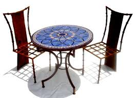 Tile Bistro Table Mosaic Tables Moroccan Outdoor Mosaic Tables Mosaic Tile Tables