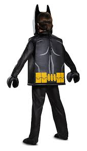 amazon com batman lego movie deluxe costume black small 4 6