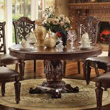 60 inch round dining room table acme vendome 60 inch round dining table cherry vendome