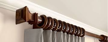 Curtain Rods And Finials Williams Drapery Kirsch Hardware And Wooden Curtain Rods Kirsch