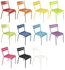 chaises fermob chaise enfant luxembourg kid by fermob designer frédéric sofia