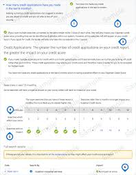 experian credit bureau sle credit report experian
