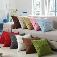 online get cheap button pillow case aliexpress com alibaba group knitting fashion soild button pillow case acrylic fibres pillowcase decorative pillows for sofa seat cushion cover home decor