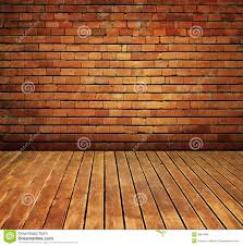 Interior Texture by Vintage Brick Wall And Wood Floor Texture Interior Royalty Free