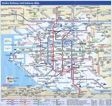 A Train Subway Map by Osaka Printable Maps U003e U003e U003e Osaka Train And Subway Map Japan