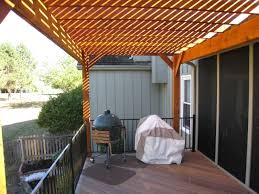 Porch Roof Plans Exterior Wonderful Front Porch Decoration With Brown Wood Pergola