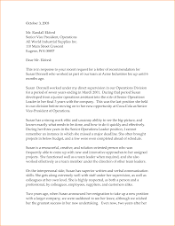 Templates For Formal Letters by Letter Of Recommendation Examples And Writing Tips Letter Of