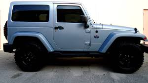 jeep arctic edition all florida tinting co 2012 jeep wrangler artic edition youtube